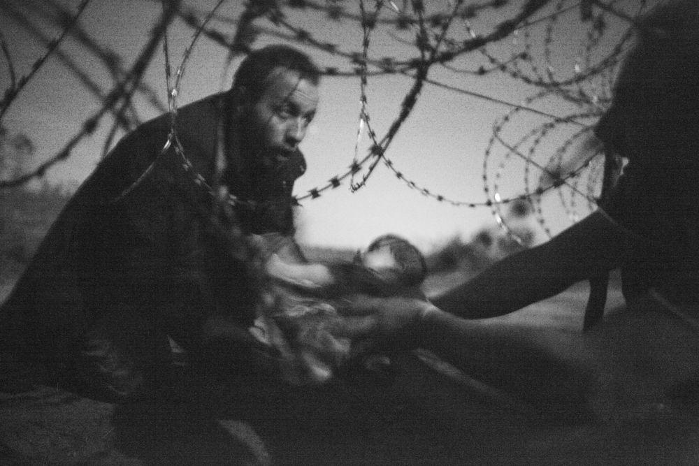 « L'espoir d'une nouvelle vie » Warren Richardson, lauréat du 59e World Press Photo